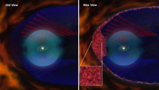 Vieja y nueva representación animada del Sistema Solar