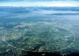 Circunferencia del Gran Colisionador de Partículas.