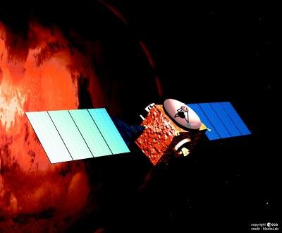 Sonda Mars Express, de la Agencia Espacial Europea