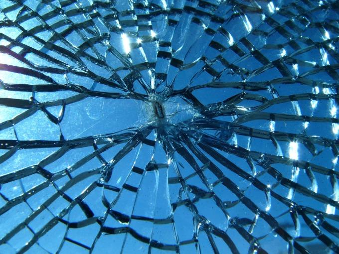 cristal, rotura