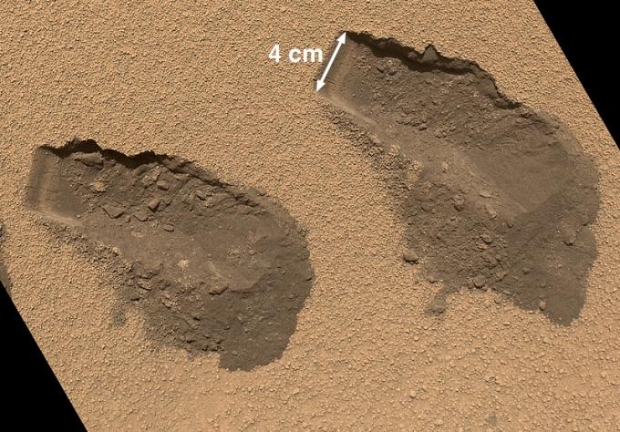 La excavadora de Curiosity
