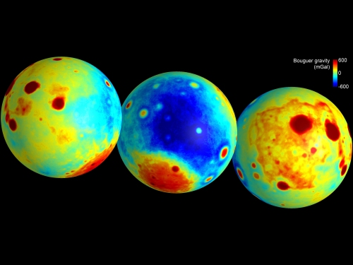 Manto gravitacional de la Luna