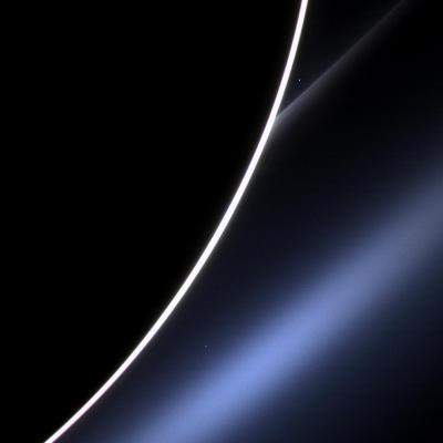 Saturno y Enceladus