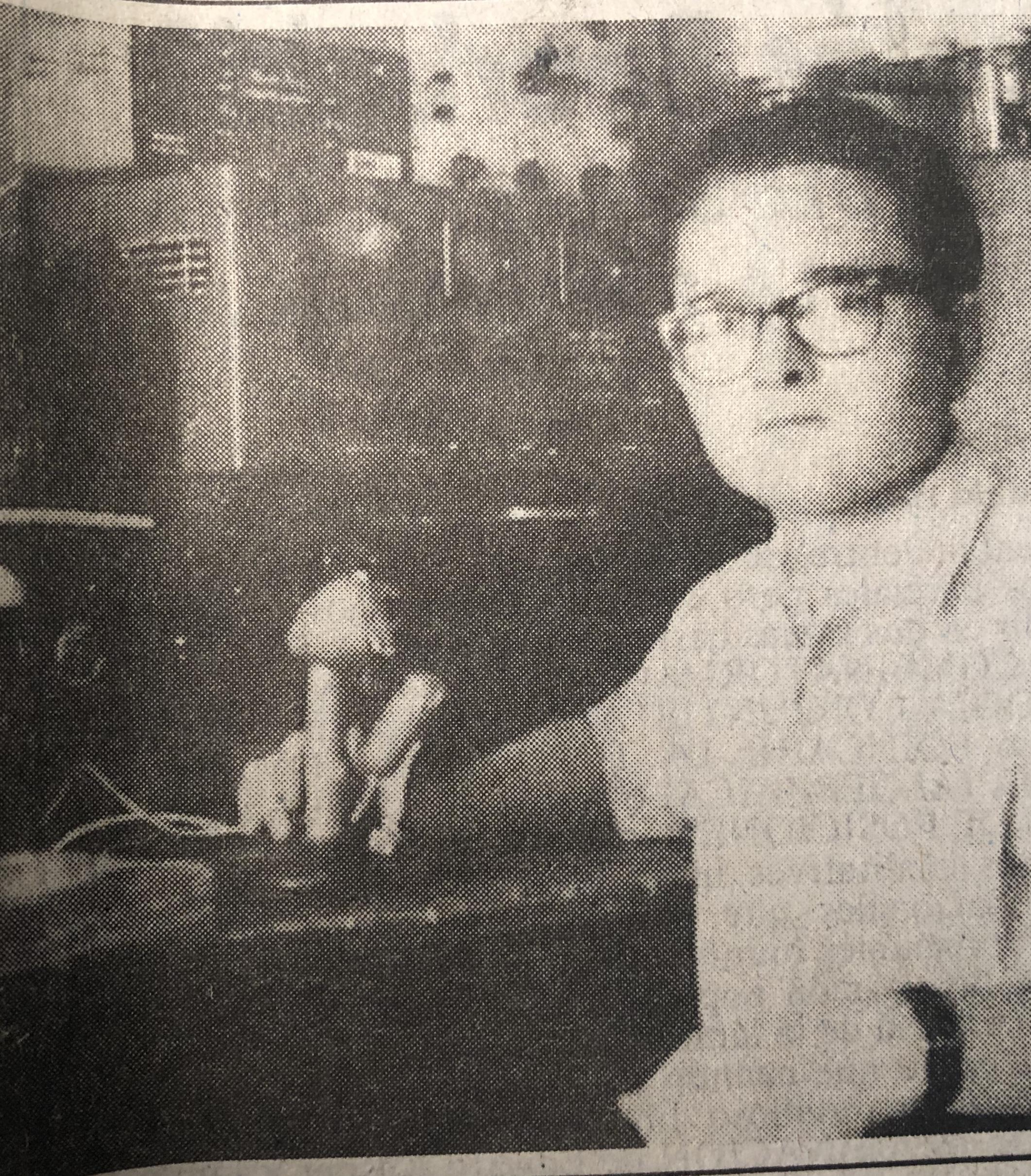 El ingeniero Julio García Moll
